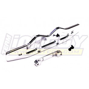 Integy alloy rear bumper for hellfire t8410silver