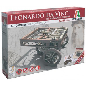 Italeri Leonardo da Vinci Self Propelling Cart Plastic Model Kit 3101