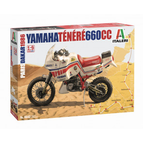 Italeri 1/9 Yamaha Tenere 660cc 1986 Paris Dakar Version 4642