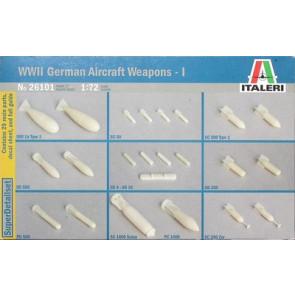 Italeri 1/72 German Aircraft Weapons WW2 No1 26101