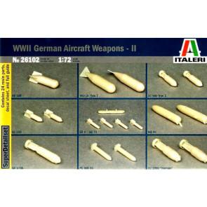 Italeri 1/72 German Aircraft Weapons WW2 No2 26102