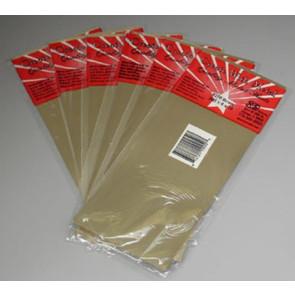 K&S Brass Sheet 4x10Inch .005Inch (1) ks-250