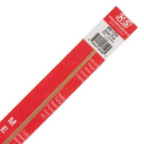 K&S .020 Solid Brass Rod (5) 8159