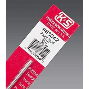 K&S Aluminum Rod 3/32inch (1) 83042