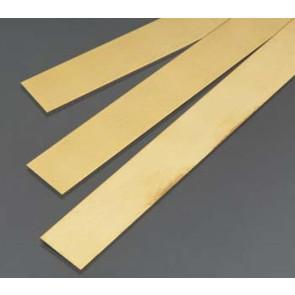 K&S Brass Strip .5mm Thick x 18mm Wide (3) 9842