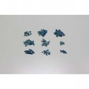 KYOSHO SCREW SET BLUE MINI INFERNO IHW008BL
