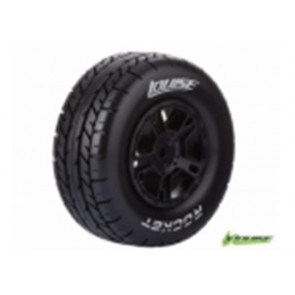 Louise 1/10 Short Course 2.2/30 Tyre Premount Soft (2Pcs) T3154