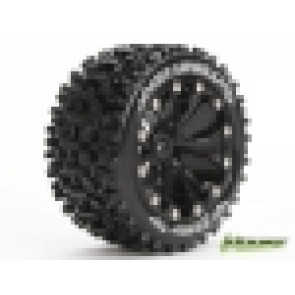 Louise 1/10 St-Uphill 2.8Inch Truck Tyre Sport Black Mounted 3211Bb