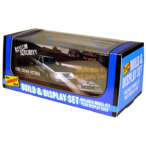 Lindberg 1/25 Crown Vic Pre-Paint W/Disp Case Hl123