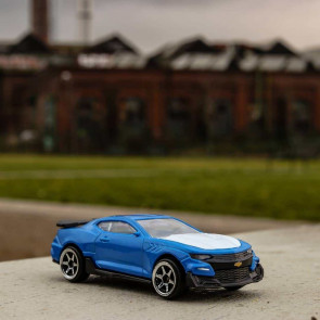 Majorette 1/64 Chevrolet Camaro Blue 212053051ac2h