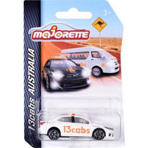Majorette 1/64 13Cabs Corolla White 212053052au2