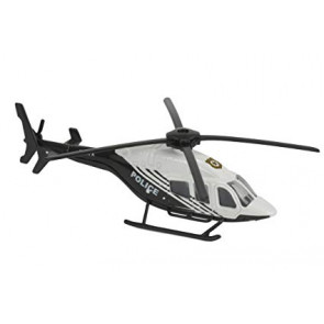 Majorette 1/64 Helicopter Police 212053130a