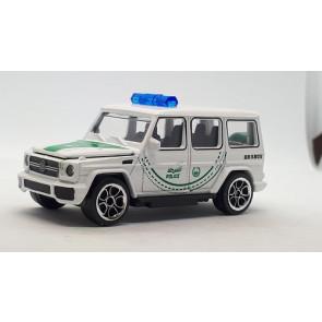 Majorette 1/64 Dubai Police Mercedes Benz G 63 AMG 212057186047e