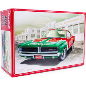 Mpc 1/25 1969 Dodge Charger Rt Coca Cola Snap 919