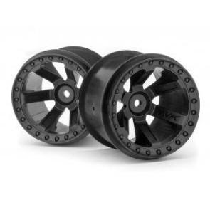 Maverick 1/10 Quantum Mt Wheel 2.8Inch (Black/2Pcs) mv150160