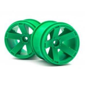 Maverick 1/10 Quantum Xt Wheel 2.8Inch (Green/2Pcs) mv150164