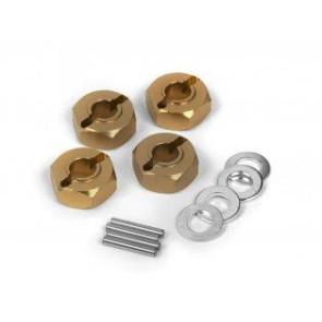 Maverick Aluminum 12Mm Wheel Hex Hub Set (4Pcs) mv150184