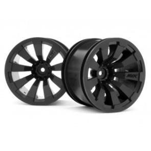 Maverick 1/10 Quantum+ XT 3.2inch Wheel (Black/2pcs) mv150246