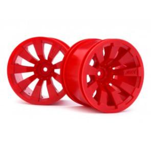 Maverick 1/10 Quantum+ XT 3.2inch Wheel (Red/2pcs mv150247