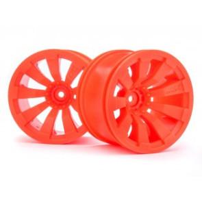 Maverick 1/10 Quantum+ XT 3.2in Wheel (Orange/2pcs) mv150248