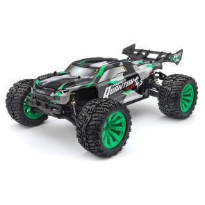 Maverick 1/10 Quantum+ XT Body (Grey/Green) mv150254