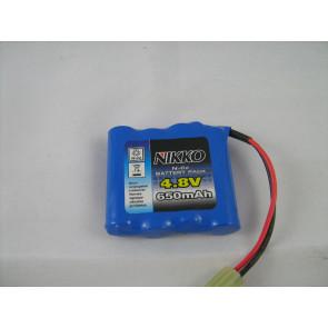 Nikko 4.8v 650Mah Nicad Battery Pack nik2003