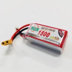 NXE Power 11.1v 1500Mah 95c Drone Battery W/XT60 1500sc953sxt60