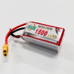 NXE Power 14.8v 1500Mah 95c Drone Softcase Lipo XT60 1500sc954sxt60