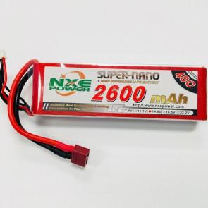 NXE Power 14.8v 2600Mah 40c Softcase Lipo W/Deans 2600sc404sdean