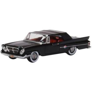 Oxford 1/87 Chrysler 300 Convertible 1961 (Closed) Black 87Cc61002