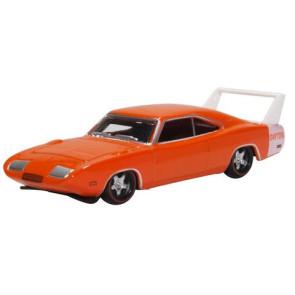 Oxford 1/87 Dodge Charger Daytona 1969 Orange 87Dd69002