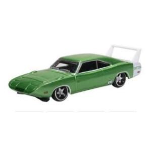 Oxford 1/87 Dodge Charger Daytona 1969 Bright Green/White 87Dd69003