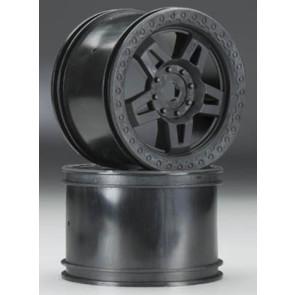 Pro-Line Tech 5 3.8in Black 2.75in Wd Zero Offst 17mm Whl 2722-03