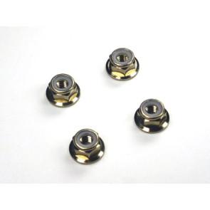 Rdlogics 5mm Aluminum Nylon Nut (4) T-Maxx Savage Revo 82207