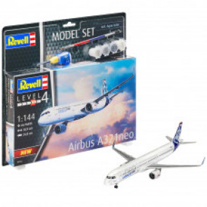 Revell 1/144 Airbus A321 Neo Gift Set 64952