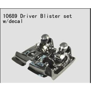 River Hobby Driver Blister Set w/ Decal Octane (FTX-8337) 10689