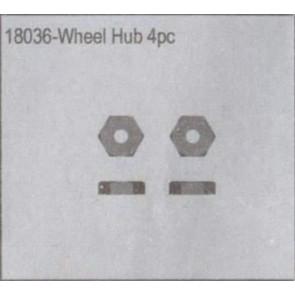 River Hobby Wheel Hub 4pcs 18036