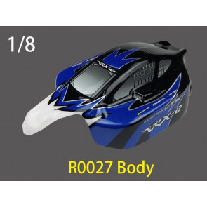 River Hobby 1/8 BUGGY Painted BODY (BLACK) r0027