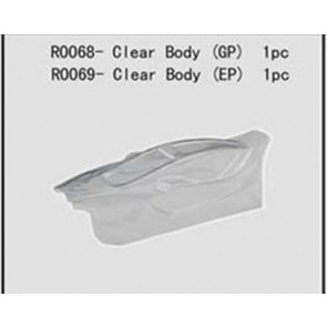 River Hobby 1/10 Clear Body (Electric Spirit) r0069