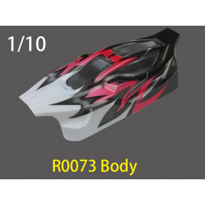 River Hobby 1/10 Buggy Painted Body Pink ( Spirit Rh1016) R0073