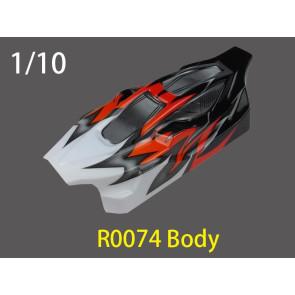 River Hobby 1/10 Buggy Painted Body Orange ( Spirit RH1016) r0074