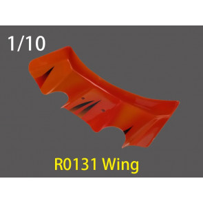 River Hobby 1/10 Buggy Pc Wing Clear R0130