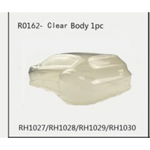 River Hobby 1/10 Rally Clear Body W/Wing (Clear-Rh1027) R0162