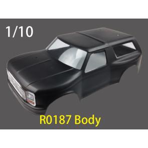 River Hobby Body Jeep Matt Black r0187