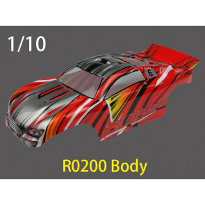 River Hobby 1/0 ST Painted Body Red (Blade) r0200
