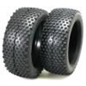 Robitronic Pin Style buggy Tyres 2 pcs/ X W/Foam Inners 27043