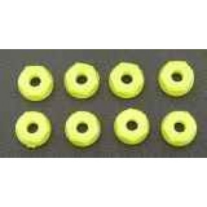 RPM Nylon Nuts 6-32 Neon Yellow (8) 70827