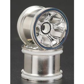 Rpm Bully 5-Spoke Front Wheel Chrome (2) Rpm 73103