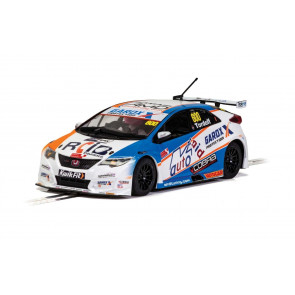 Scalextric 1/32 Honda Civic Type R BTCC 2019 Sam Tordoff c4144