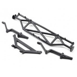 Associated Rear Bumper & Brace SC10 9817